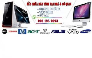 Kiểm tra khắc phục sự cố máy tính, laptop tận nhà tại Hà Nội