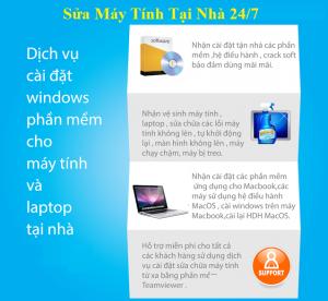 Dịch vụ cài win laptop máy tính tại nhà-096 195 9093