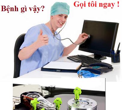 Sửa máy tính tại nhà quận hà đông