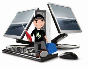 Sửa máy tính chung cư Hòa Bình Green City và Time City